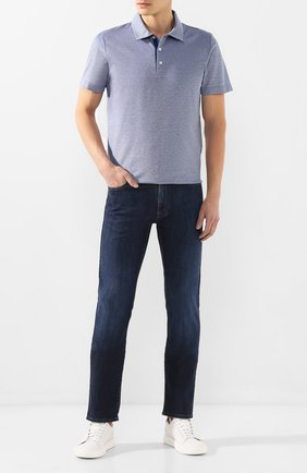 Мужские джинсы CANALI темно-синего цвета, арт. 91700/PD00250 | Фото 2