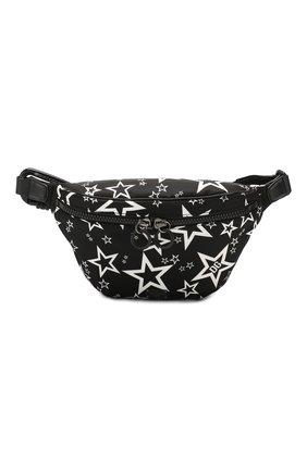 Мужская текстильная поясная сумка millennials star DOLCE & GABBANA черного цвета, арт. BM1760/AJ610 | Фото 1