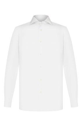 Мужская хлопковая сорочка LUIGI BORRELLI белого цвета, арт. EV08/ARCHILLE/TS10605 | Фото 1