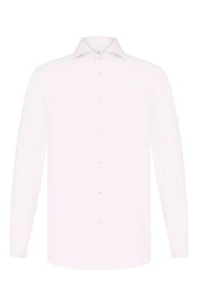 Мужская хлопковая сорочка LUIGI BORRELLI розового цвета, арт. EV08/ARCHILLE/TS10605 | Фото 1