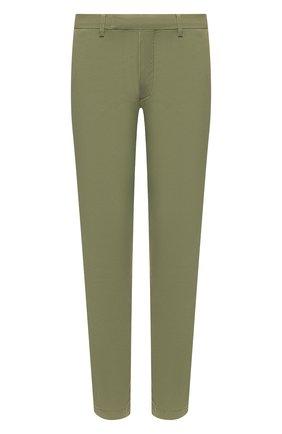 Мужские хлопковые брюки POLO RALPH LAUREN хаки цвета, арт. 710644988   Фото 1