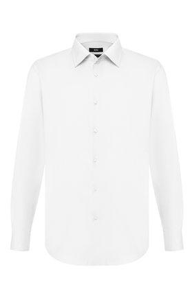 Мужская хлопковая сорочка BOSS белого цвета, арт. 50422094 | Фото 1