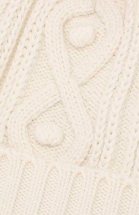 Детского шапка из хлопка и шерсти TARTINE ET CHOCOLAT белого цвета, арт. TP90032   Фото 3