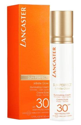 Женский солнцезащитный крем для сияния кожи лица spf 30 LANCASTER бесцветного цвета, арт. 3614225561719 | Фото 2