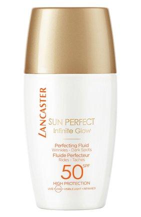 Женский солнцезащитный флюид для сияния кожи лица spf 50 LANCASTER бесцветного цвета, арт. 3614225562037 | Фото 1