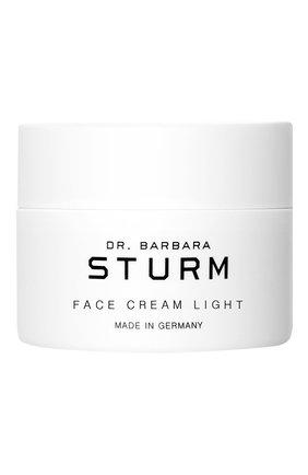 Женское крем для лица с легкой текстурой face cream light DR. BARBARA STURM бесцветного цвета, арт. 4015165337706 | Фото 1