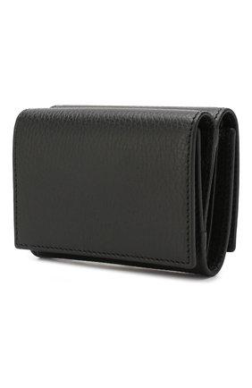 Женские кожаное портмоне GUCCI черного цвета, арт. 474746/CA00G | Фото 2