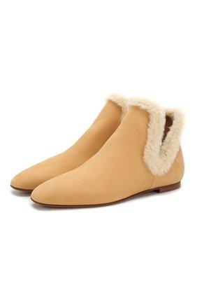 Замшевые ботинки Eros | Фото №1