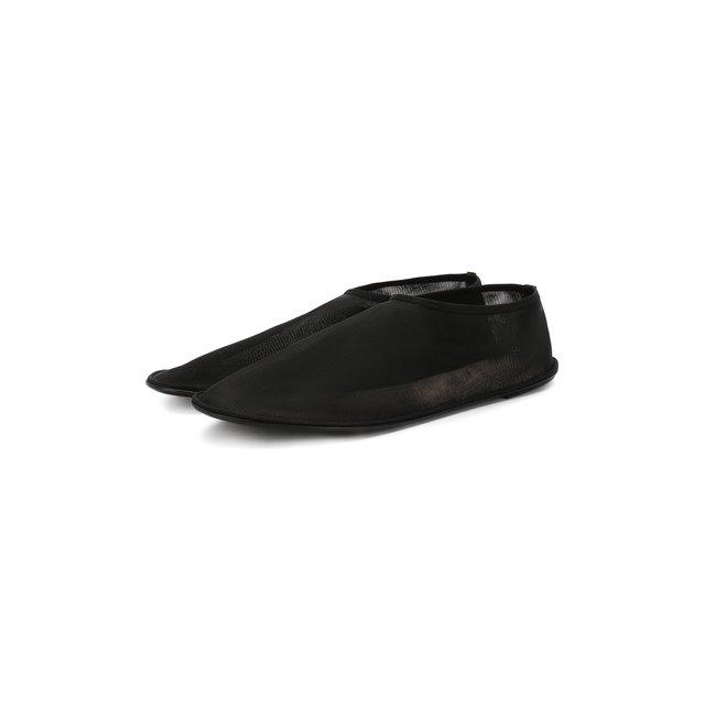 Текстильные балетки Sock The Row