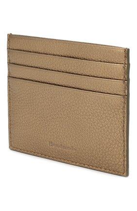 Женский кожаный футляр для кредитных карт COCCINELLE бронзового цвета, арт. E2 FW5 12 95 01 | Фото 2