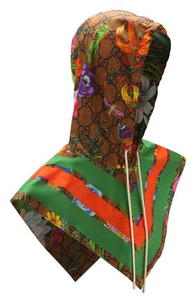 Женский капюшон GUCCI разноцветного цвета, арт. 609394/3G407 | Фото 1