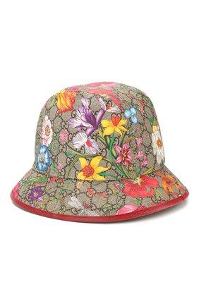 Женская панама GUCCI разноцветного цвета, арт. 603988/4HI89 | Фото 2