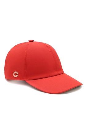 Женская хлопковая бейсболка LORO PIANA красного цвета, арт. FAL0658 | Фото 1
