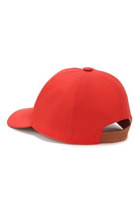 Женская хлопковая бейсболка LORO PIANA красного цвета, арт. FAL0658 | Фото 2