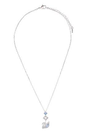 Женская кулон dazzling swan SWAROVSKI серебряного цвета, арт. 5530625   Фото 1