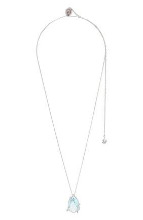 Женская кулон sunny SWAROVSKI серебряного цвета, арт. 5520494 | Фото 1
