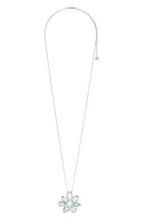 Женская кулон flower SWAROVSKI серебряного цвета, арт. 5520492 | Фото 1