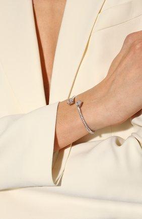Женский браслет attract SWAROVSKI серебряного цвета, арт. 5535354 | Фото 2