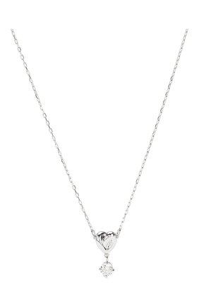 Женская кулон lifelong heart SWAROVSKI серебряного цвета, арт. 5517928   Фото 2