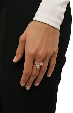 Женское кольцо attract SWAROVSKI серебряного цвета, арт. 5512854 | Фото 2
