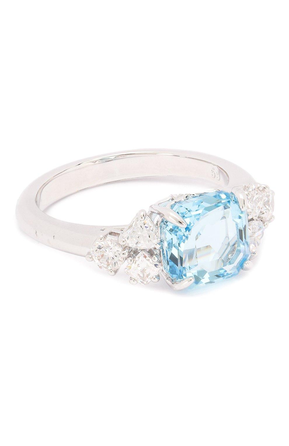 Женское кольцо sparkling SWAROVSKI серебряного цвета, арт. 5524141   Фото 1
