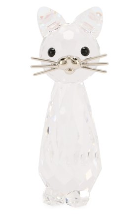Мужская фигурка replica cat SWAROVSKI прозрачного цвета, арт. 5492740 | Фото 1