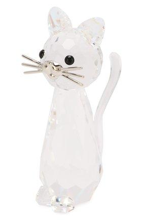 Мужская фигурка replica cat SWAROVSKI прозрачного цвета, арт. 5492740 | Фото 2