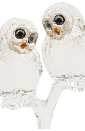 Мужского фигурка owl couple SWAROVSKI прозрачного цвета, арт. 5493722 | Фото 4