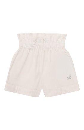 Детские шорты MONNALISA розового цвета, арт. 315411A1 | Фото 1