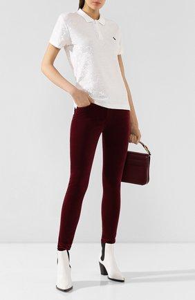 Женские джинсы AG бордового цвета, арт. 0SV1379/GBRY | Фото 2