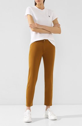 Женские брюки AG коричневого цвета, арт. SBW1613/MGLD | Фото 2