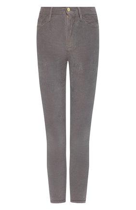 Женские вельветовые брюки FRAME DENIM серого цвета, арт. AHRSCCD523 | Фото 1