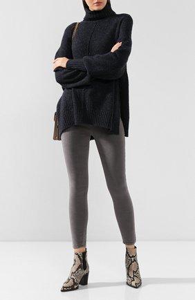 Женские вельветовые брюки FRAME DENIM серого цвета, арт. AHRSCCD523 | Фото 2