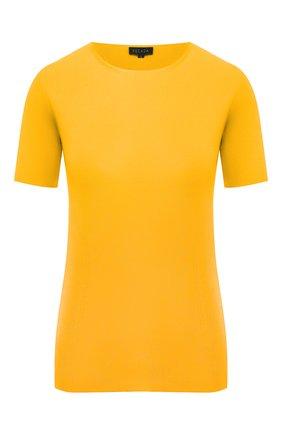 Женский топ из вискозы ESCADA желтого цвета, арт. 5031789   Фото 1
