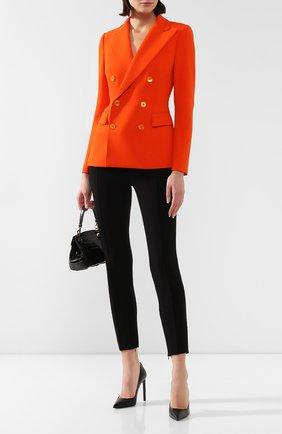 Женский шерстяной жакет RALPH LAUREN оранжевого цвета, арт. 290788634   Фото 2