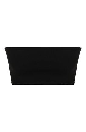 Женская топ из вискозы BALMAIN черного цвета, арт. TF10975/K050 | Фото 1