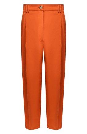 Женские хлопковые брюки ESCADA оранжевого цвета, арт. 5031948   Фото 1