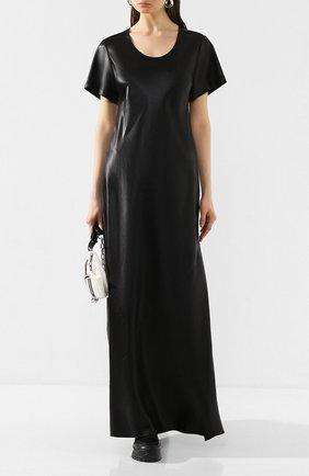 Женское платье-макси ALEXANDERWANG.T черного цвета, арт. 4WC1206016 | Фото 2