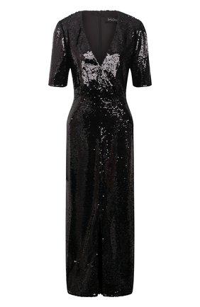 Женское платье с пайетками SALONI черного цвета, арт. 10155-02   Фото 1