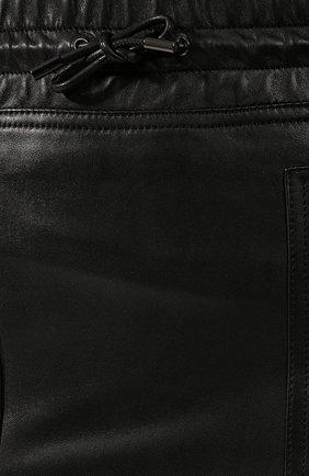 Женская кожаная юбка TOM FORD черного цвета, арт. GCL791-LEX228 | Фото 5