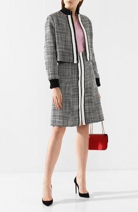 Женская куртка DOROTHEE SCHUMACHER черно-белого цвета, арт. 646302/M0DERN FASCINATI0N | Фото 2