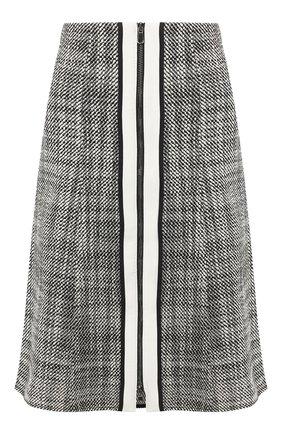 Женская юбка DOROTHEE SCHUMACHER черно-белого цвета, арт. 646315/M0DERN FASCINATI0N | Фото 1