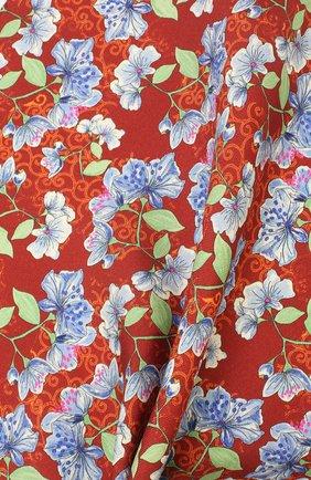 Мужской шелковый платок ETON красного цвета, арт. A000 32143 | Фото 2