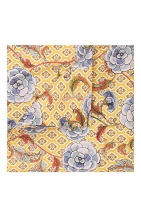 Мужской шелковый платок ETON желтого цвета, арт. A000 32142 | Фото 1