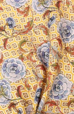 Мужской шелковый платок ETON желтого цвета, арт. A000 32142 | Фото 2