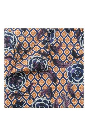 Мужской шелковый платок ETON синего цвета, арт. A000 32142 | Фото 1