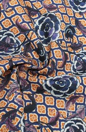 Мужской шелковый платок ETON синего цвета, арт. A000 32142 | Фото 2