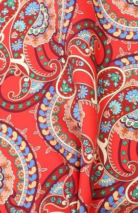 Мужской шелковый платок ETON красного цвета, арт. A000 32139 | Фото 2