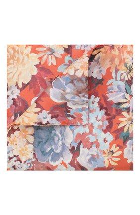 Мужской шелковый платок ETON оранжевого цвета, арт. A000 32117 | Фото 1