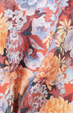 Мужской шелковый платок ETON оранжевого цвета, арт. A000 32117 | Фото 2